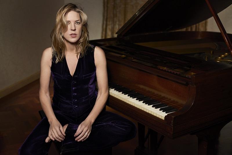 La pianista y cantante Diana Krall. Foto: Heineken Jazzaldia.