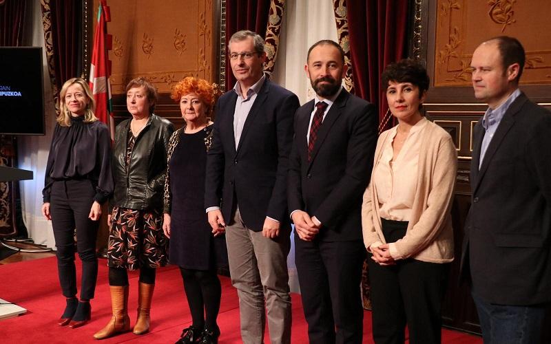 Presentación de la querella de la Diputación contra la impunidad del Franquismo. Foto: Diputación.