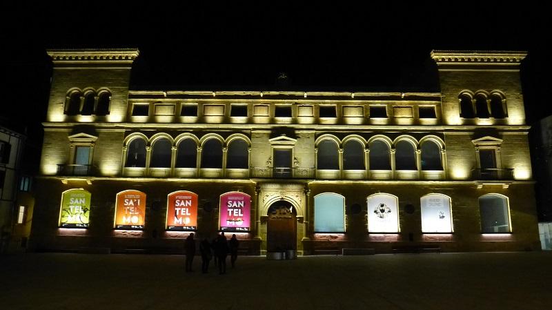 San Telmo Museoa gaueko iluminazioa. Argazkia:  Donostia Kultura