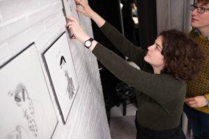 DSCF1718 300x200 - Las mujeres de la ilustradora Layayaletuca, desde hoy, en Donostia