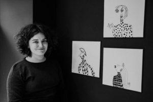 DSCF1736 300x200 - Las mujeres de la ilustradora Layayaletuca, desde hoy, en Donostia