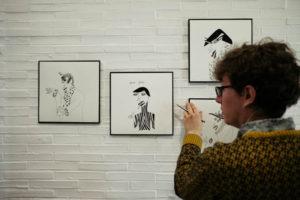 DSCF1740 300x200 - Las mujeres de la ilustradora Layayaletuca, desde hoy, en Donostia