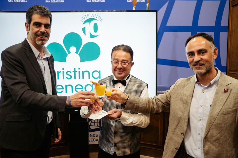 Décimo aniversario de la Fundación Cristina Enea. Fotos: Santiago Farizano