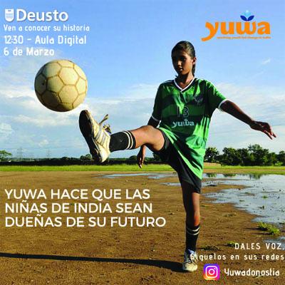 indias Jóvenes indias de la escuela Yuwa hablarán mañana de esperanza y futuro en Deusto Donostia