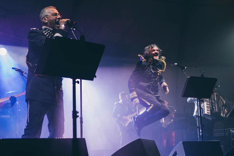 Concierto de Emir Kusturica en Expogrow este año. Foto: Santiago Farizano
