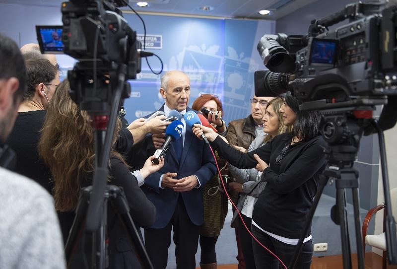 Josu Erkoreka, hoy. Foto: Gobierno vasco