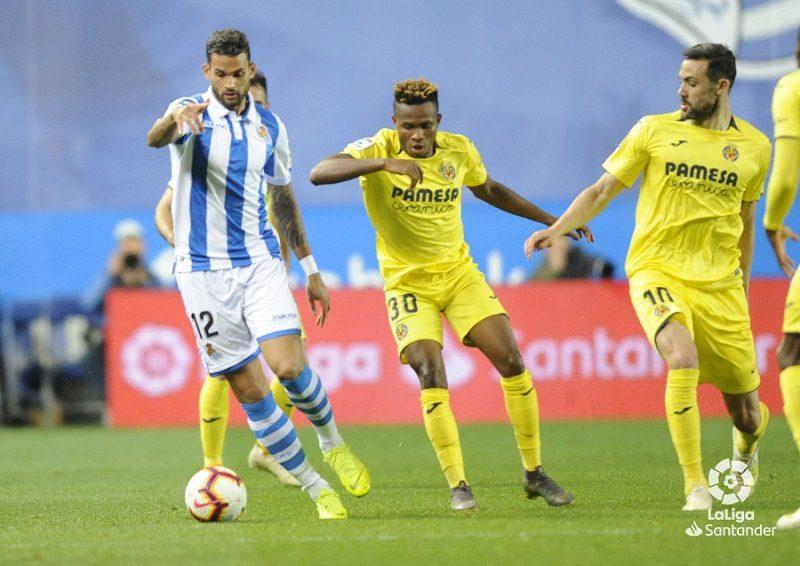 Real Villarreal 1 Un gol casi al final, dolorosa derrota txuri urdin ante el Villarreal
