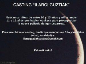 casting ilargi guztiak 300x225 - Se buscan pequeños actores para el film 'Ilargi Guztiak'