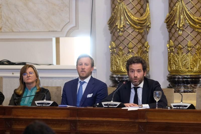 Borja Sémper, concejal del Ayuntamiento donostiarra. Foto: Santiago Farizano