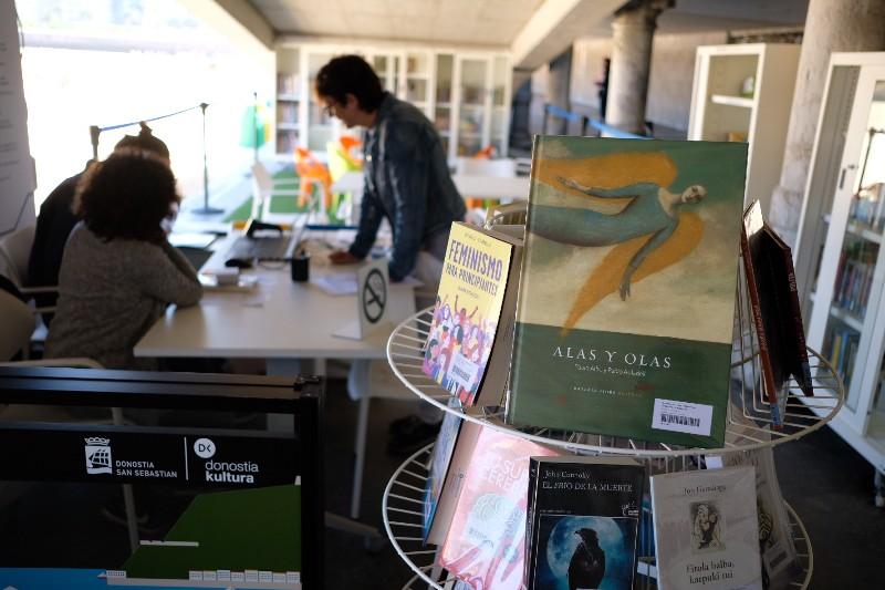 La Eguzkiteka abre sus puertas por tercer verano. Fotos: Santiago Farizano