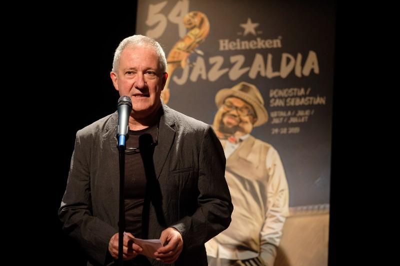Miguel Martín, director del Jazzaldia. Foto: Santiago Farizano