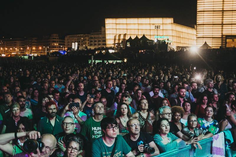 Imagen de un concierto el pasado año en el Escenario Verde. Foto: Santiago Farizano