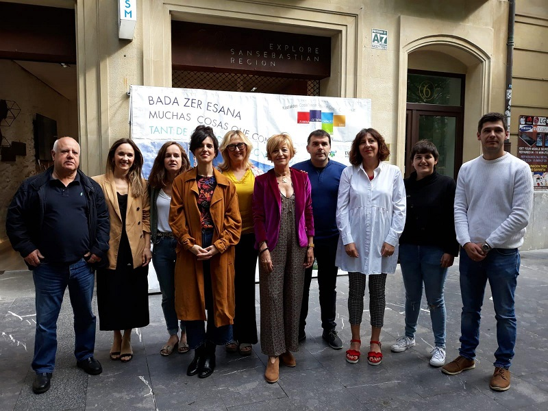 Presentación de la nueva oferta turística. Foto: Diputación
