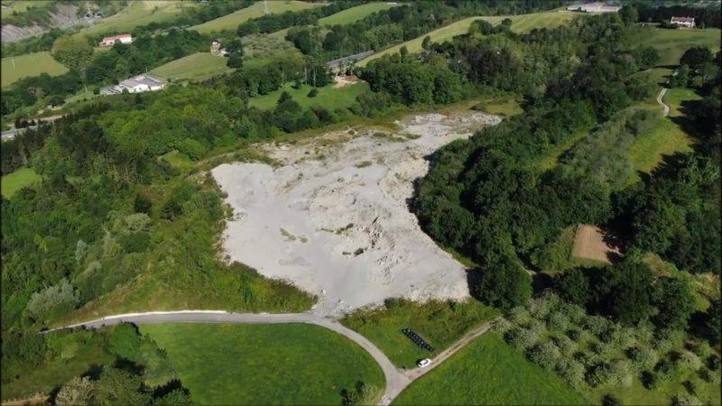 La zona afectada por el vertido. Foto: Haritzalde