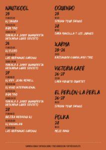 Extra jazz 212x300 - La Plaza de la Trinidad, enclave de jazz y refugio de la lluvia