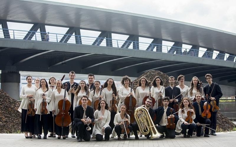 Euskadiko Gazte Orkestraren irudia. Argazkia: EGO