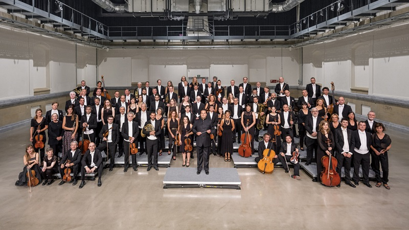 Orquesta Sinfónica de Euskadi. Foto: Quincena Musical