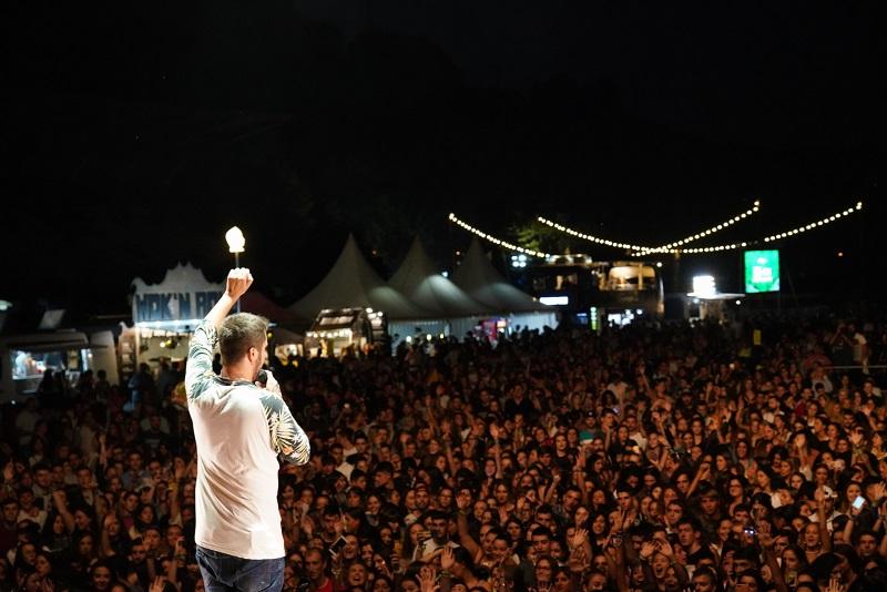 Beret, anoche, en concierto. Foto: Asier Camacho (Donostia Festibala)