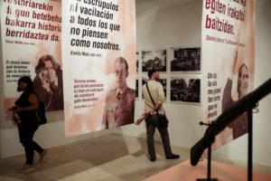 DSCF3981 300x200 - La Guerra Civil, en el Koldo Mitxelena, con más personas que efemérides bélicas