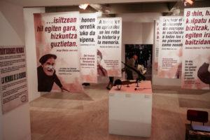 DSCF4030 300x200 - La Guerra Civil, en el Koldo Mitxelena, con más personas que efemérides bélicas