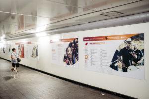 DSCF5651 300x200 - 'Semillas de solidaridad', en el pasadizo de Egia, invita a informarse y echar una mano