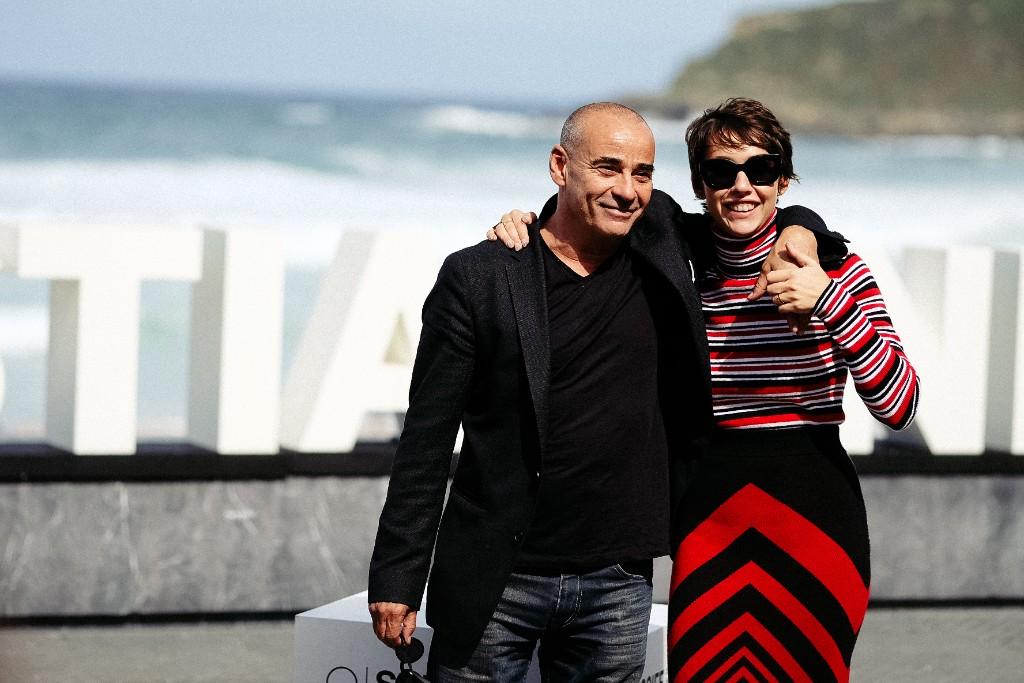 Eduard Fernández y su hija Greta, protagonistas de 'La hija de un ladrón'. Fotos: Santiago Farizano