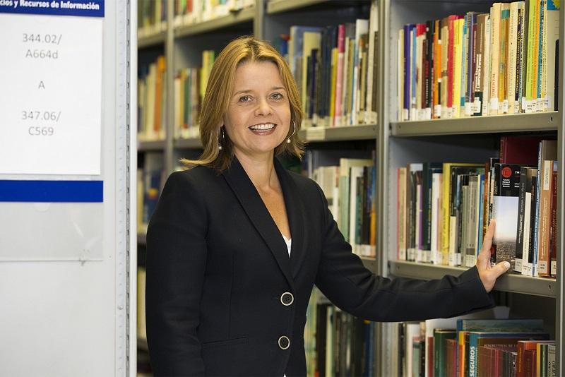 La profesora Raquel Puente. Foto: Deusto