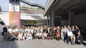 pasadizo 300x169 - 'Semillas de solidaridad', en el pasadizo de Egia, invita a informarse y echar una mano