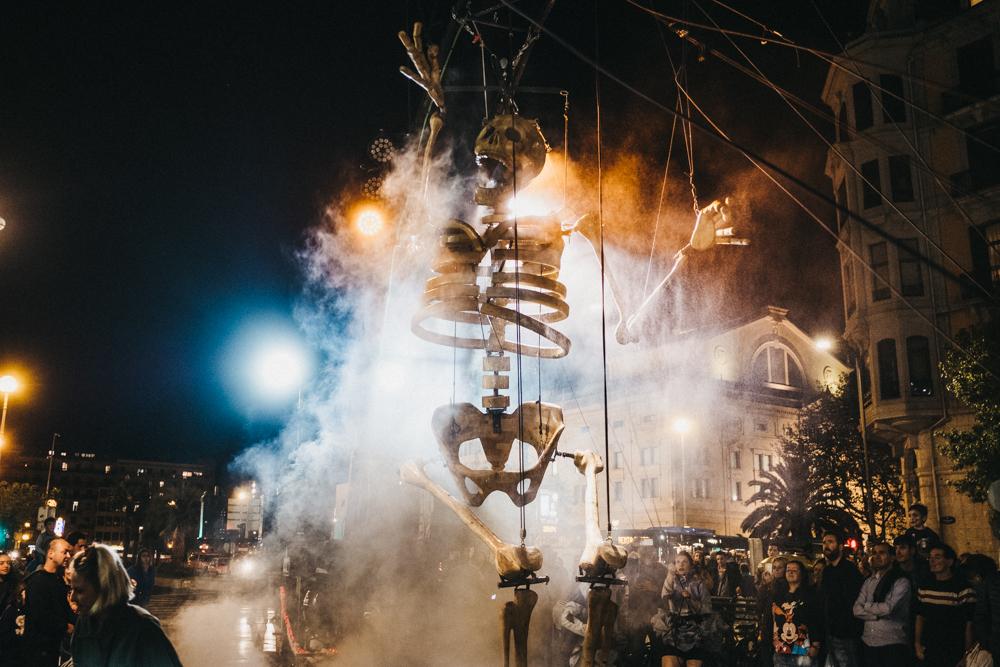 DSCF0576 Macabra y divertida inauguración de la Semana de Cine Fantástico y de Terror
