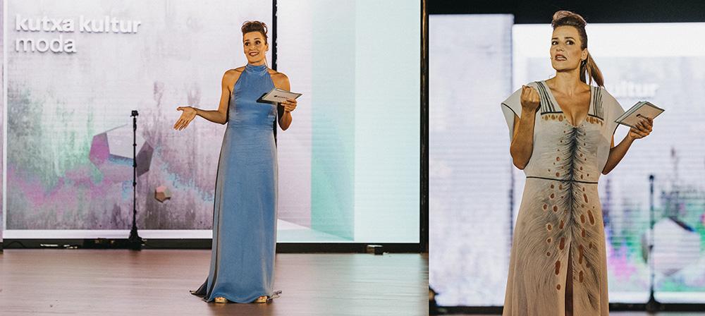 DSCF8253 - Las diseñadoras de Kutxa Kultur Moda se ganan el aplauso del público