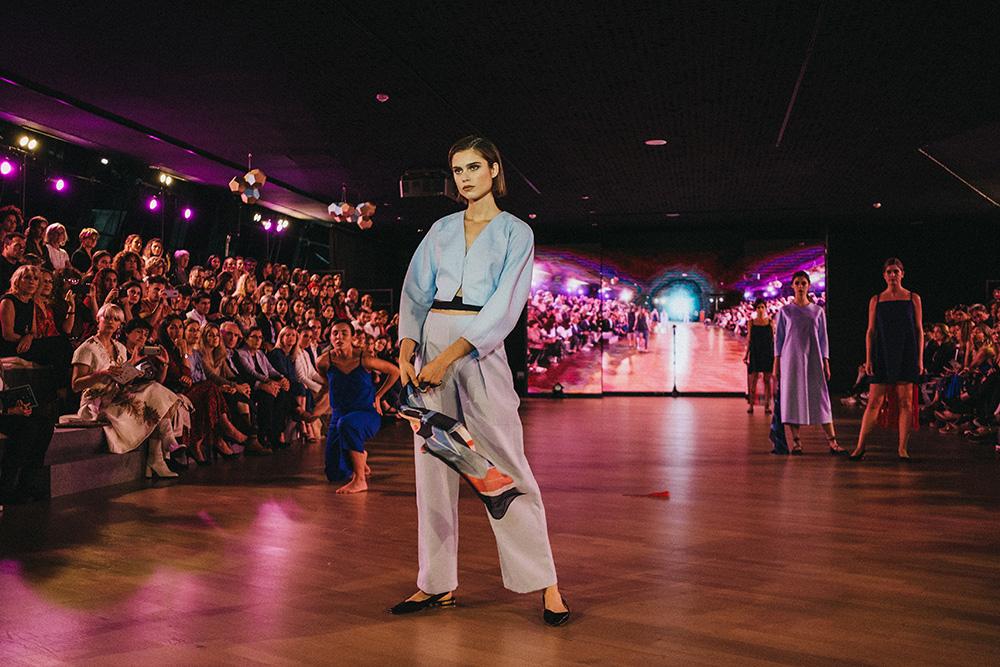 EME principal - Las diseñadoras de Kutxa Kultur Moda se ganan el aplauso del público