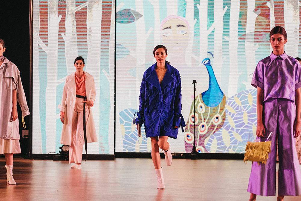 ElixabetPerdiguero principal - Las diseñadoras de Kutxa Kultur Moda se ganan el aplauso del público