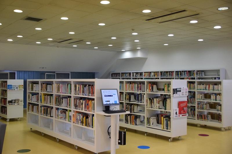 Biblioteca de Ernest Lluch. Foto: Ayto.