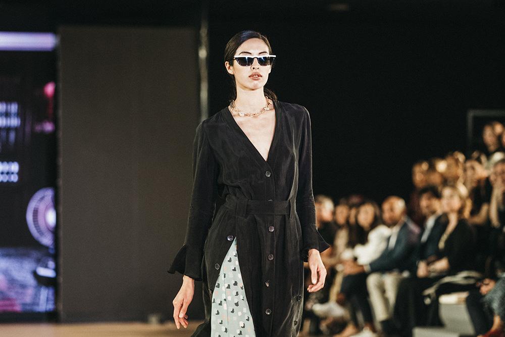 Laza principal - Las diseñadoras de Kutxa Kultur Moda se ganan el aplauso del público