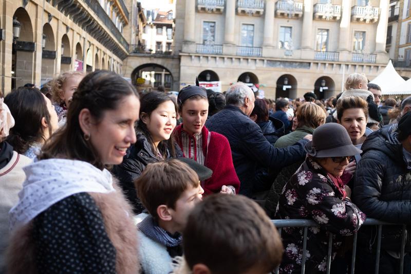 DSCF5076 Santo Tomás: Miles de baserritarras más allá del sol y la lluvia en Donostia