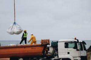 2020 01 17 10.54.00 2 1024x682 1 300x200 - Avanza la obra en la Isla Santa Clara con el desalojo aéreo de escombros