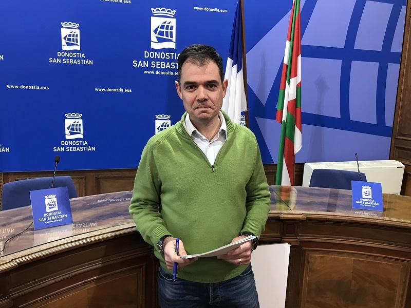 Imagen de archivo. El concejal Ricardo Burutaran. Foto: Ayto.