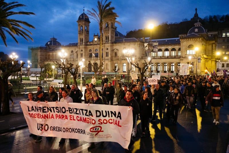 DSCF3014 Gobierno vasco y sindicatos se enrocan en sus propias lecturas de la huelga