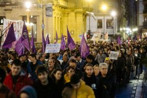 DSCF3026 Gobierno vasco y sindicatos se enrocan en sus propias lecturas de la huelga