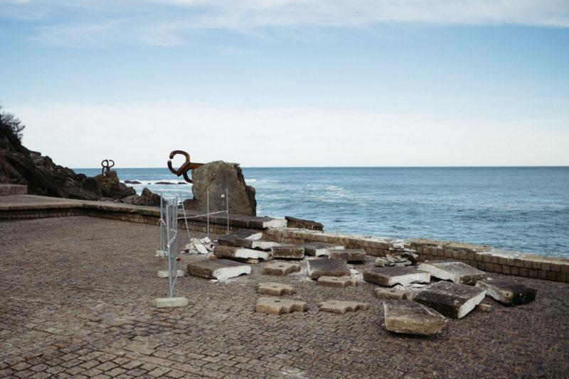 DSCF8758 Donostia, de nuevo a merced del mar