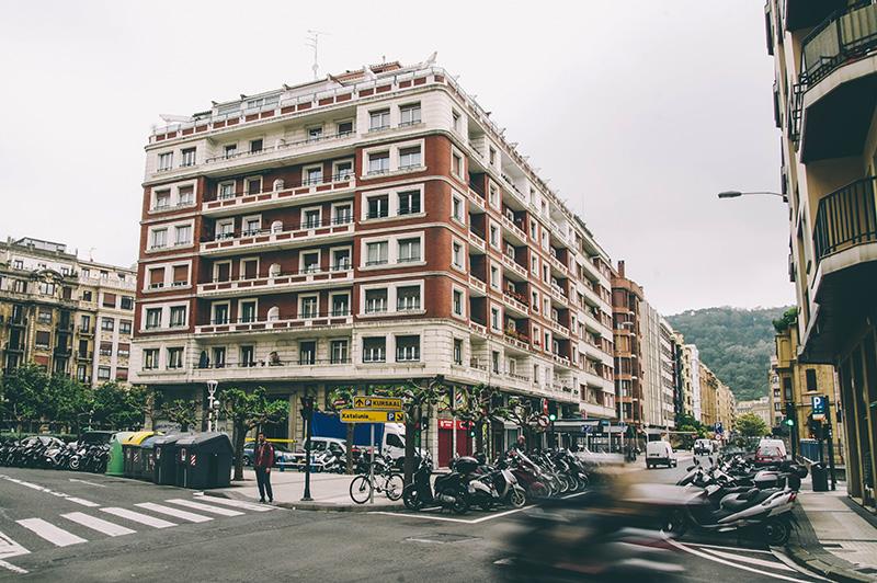 Imagen del barrio de Gros. Foto: Santiago Farizano