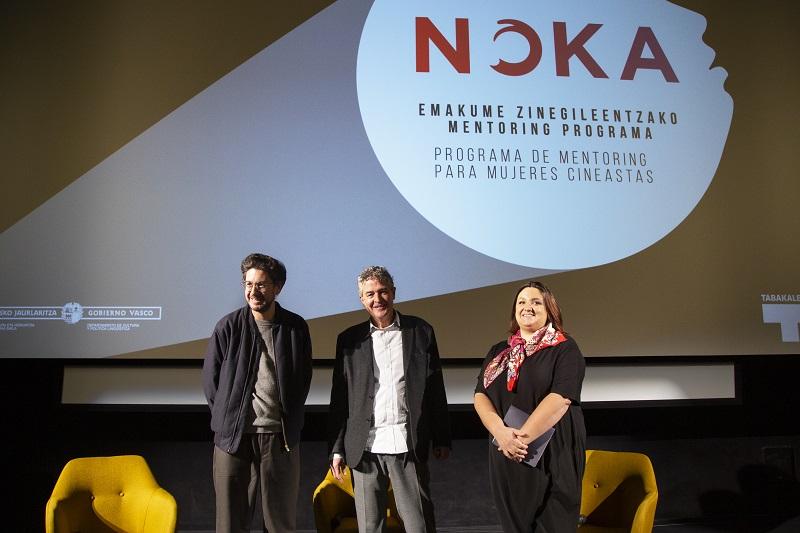 Noka Noka Mentoring seleccionará tres proyectos de cineastas vascas