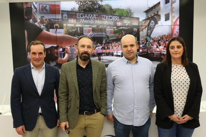 Presentación de la carrera Zegama Aizkorri. Foto: Diputación