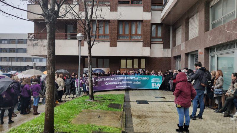 residencias ELA viernes Residencias: Nueva concentración con la negociación en suspenso