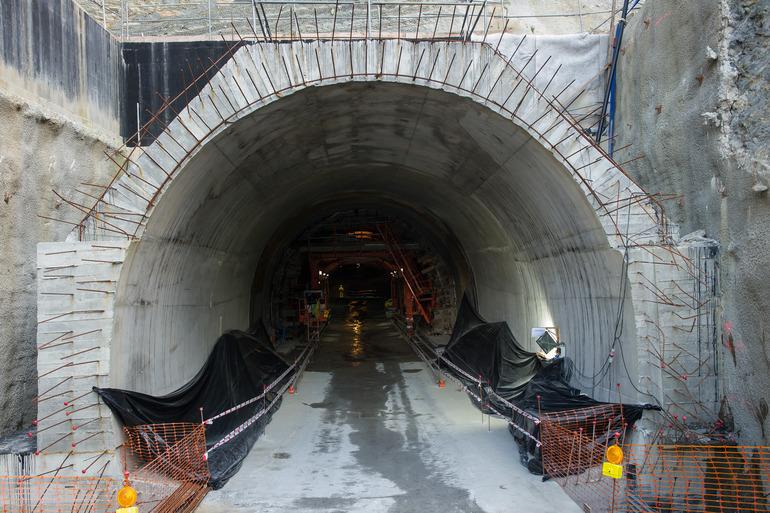 tunel morlans Concluye la excavación de la futura estación de Easo-Amara del Topo