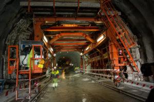 tunel morlans2 Concluye la excavación de la futura estación de Easo-Amara del Topo