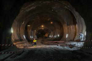 tunel morlans3 1 Concluye la excavación de la futura estación de Easo-Amara del Topo
