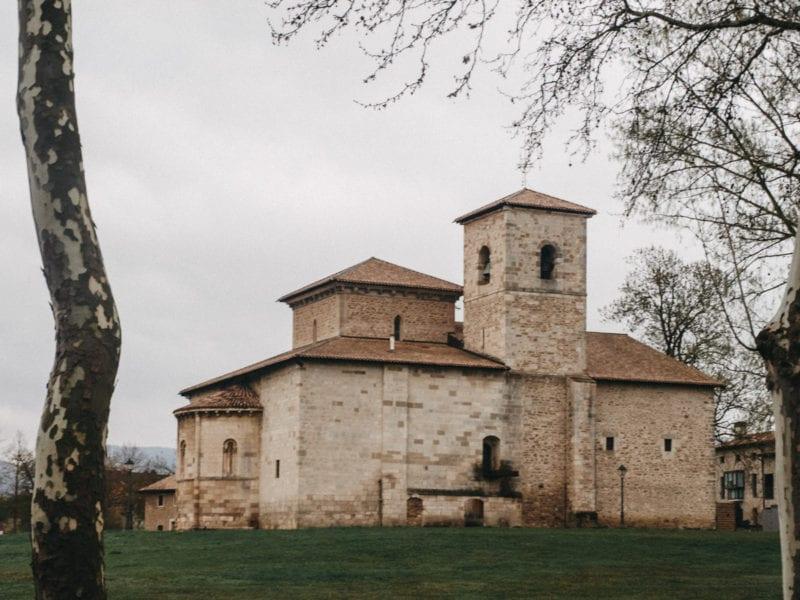 Basilica de Armetia Zaldiaran. Las ventanas de Mari