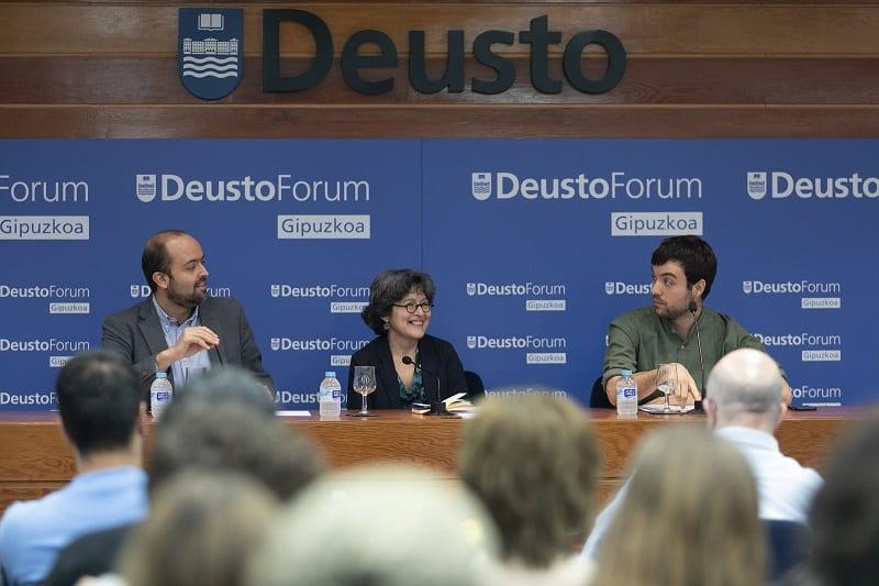 DeustoForum Gipuzkoa 1 Inaugurado el ciclo de conferencias 'Comunicar en las fronteras'