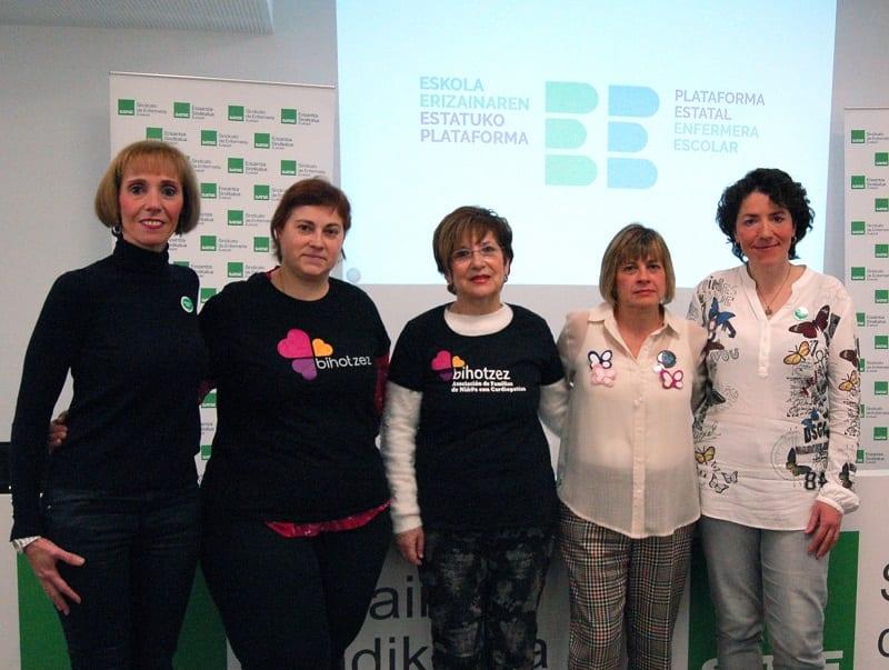 enfermera escuela Objetivo: Una enfermera en cada colegio e instituto de Euskadi